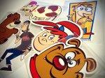 calcomania cartoons